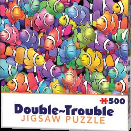 Cheatwell puzzel dubbelzijdig - Double trouble Clownfish (500 stukjes)