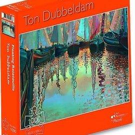 Art Puzzel Ton Dubbeldam puzzel - Floating Ratatouille (1000 stukjes)