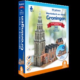 House of Holland House of Holland puzzel 3D Gebouw - Martinikerk en -toren Groningen (140 stuks)