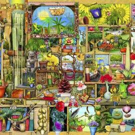 Wentworth Wentworth houten puzzel - The Gardener's Cupboard (140 stukjes)