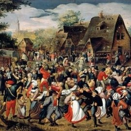 Wentworth Wentworth houten puzzel - The Village Festival (40 stukjes)