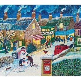 Wentworth Wentworth houten puzzel - Christmas Post (40 stukjes)