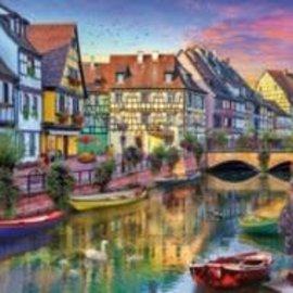 Wentworth Wentworth houten puzzel - Colmar Canal (40 stukjes)