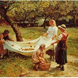 Wentworth Wentworth houten puzzel - The Apple Gatherers (40 stukjes)