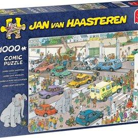 Jumbo Jan van Haasteren puzzel - Jumbo gaat winkelen (1000 stukjes)