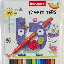 Bruynzeel Bruynzeel 12 viltstiften (glutenvrij)
