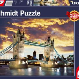 Schmidt Schmidt puzzel Tower Bridge Londen (1000 stukjes)