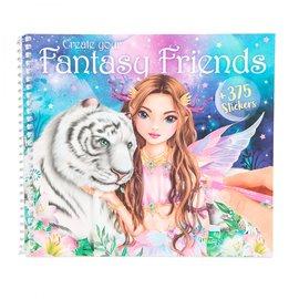 TopModel Create your Fantasy Friend kleurboek