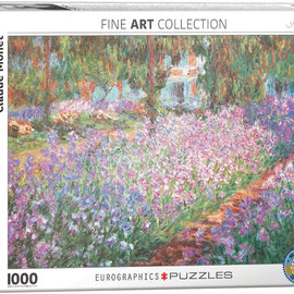 Eurographics Eurographics puzzel Monet's garden - Claude Monet (1000 stukjes)
