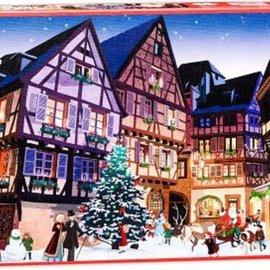 Piatnik Piatnik puzzel Vintage Christmas Village (1000 stukjes)