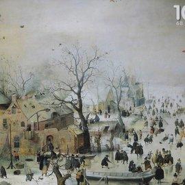 Puzzelman Winter - Hendrick Averkamp (Rijksmuseum) (1000)
