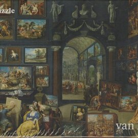 Puzzelman Puzzelman Kunstgalerij 2 - Willem van Haecht (Mauritshuis, 1000 stukjes)