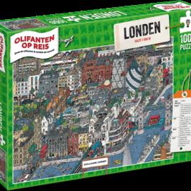 Overige puzzels Olifanten op Reis - Londen (1000)