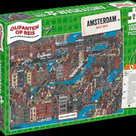Overige puzzels Olifanten op Reis - Amsterdam (1000)