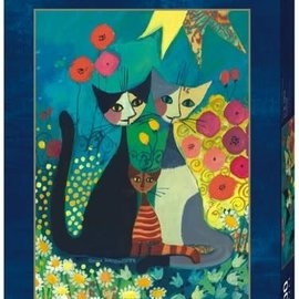 Heye Heye puzzel Flowerbed - Rosina Wachtmeister (1000 stukjes)