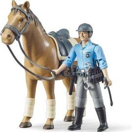 Bruder Bruder BWorld politie speelfiguur met paard