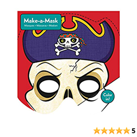Mudpuppy Mudpuppy Make-a-Masks/Pirates