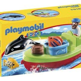 Playmobil Playmobil - 1.2.3 Vissersboot (70183)