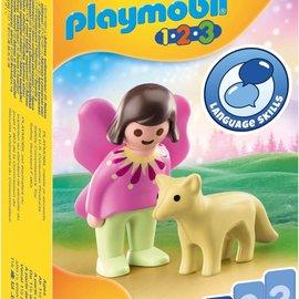 Playmobil Playmobil  1.2.3. Feeenvriendin met vos (70403)