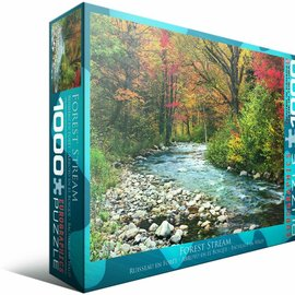 Eurographics Eurographics puzzel Forest Stream (1000 stukjes)