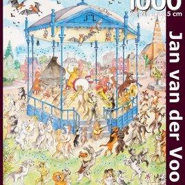 Puzzelman Puzzelman Dansende Honden - Jan van der Voo (1000)
