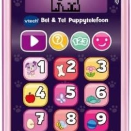 Vtech Vtech  Bel & tel Puppy telefoon roze