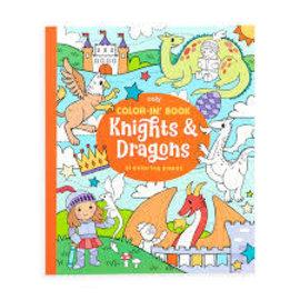 Ooly Ooly colorin book ridders en draken