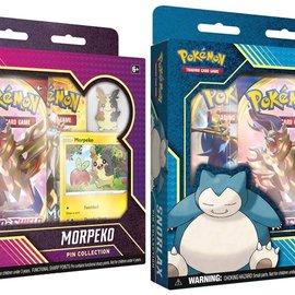 Pokémon POK TCG Snorlax/Morpeko Pin Collection