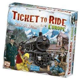 Days of Wonder Ticket to Ride Europe (Engels)