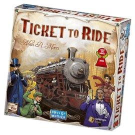 Days of Wonder Ticket to Ride (USA, Engels)