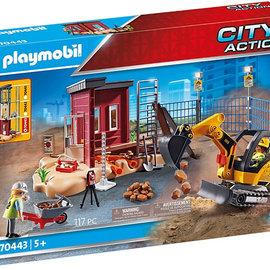 Playmobil Playmobil 70443 Mini Graafmachine met Bouwonderdeel