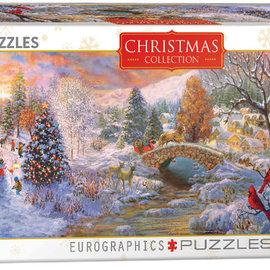 Eurographics Eurographics puzzel Christmas Collection - To Grandma's House We Go (1000 stukjes)