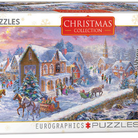 Eurographics Eurographics puzzel Christmas Collection - Holiday at the Seaside (1000 stukjes)