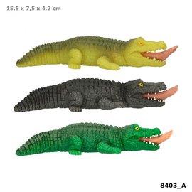 TopModel Dino World knijp krokodil