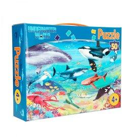 TopModel Dino World puzzel 50 stukjes UNDERWATER