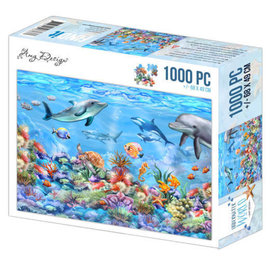Amy Design puzzel - Underwater World (1000 stukjes)