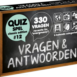 Puzzles & Games Vragen & Antwoorden (classic edition 12)