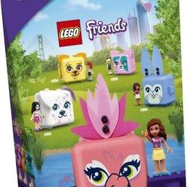 Lego Lego 41662 Olivia's Flamingokubus