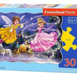 Castorland Castorland puzzel Assepoester (30 stukjes)