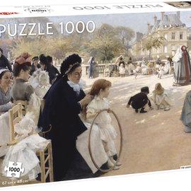 Tactic Selecta TacTic puzzel Luxembourg Gardens (1000 stukjes)