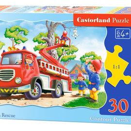 Castorland Castorland puzzel Kitten reddingsactie (30 stukjes)