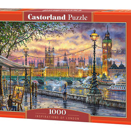Castorland Castorland puzzel Inspirations of London (1000 stukjes)