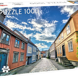 Tactic Selecta TacTic puzzel Trondheim Old Town (1000 stukjes)