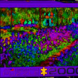 Eurographics Eurographics puzzel Monet's tuin (2000 stukjes)