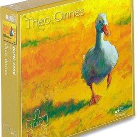 Art Puzzel Art Puzzel Witte Eend - Theo Onnes (1000 stukjes)