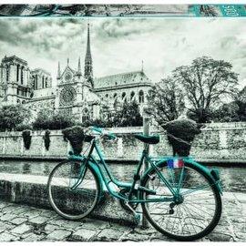 Educa Educa puzzel Fietsen bij de Notre Dame (500 stukjes)