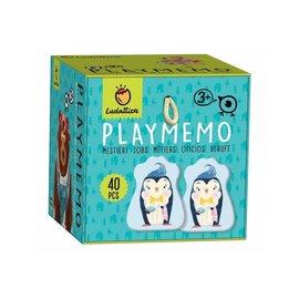 Ludattica Playmemo - Shaped at Work (memoryspel)