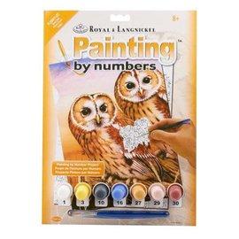 Overig Royal & Langnickel schilderen op nummer Tawny Owls