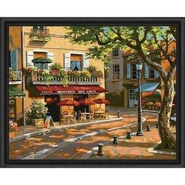 Overig Royal & Langnickel schilderen op nummer Brasserie des arts (50 x 40 cm)