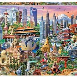 Educa Educa puzzel Asia Landmarks (1500 stukjes)